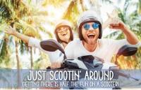 Just Scootin' Around